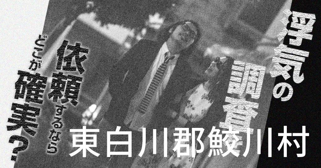 福島県東白川郡鮫川村で浮気の調査を依頼するならどこが確実?費用がムダにならないおススメ興信所の選び方など
