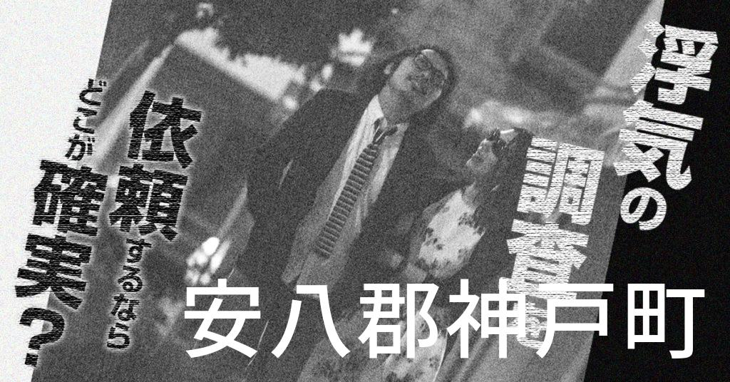 岐阜県安八郡神戸町で浮気の調査を依頼するならどこが確実?費用がムダにならないおススメ興信所の選び方など