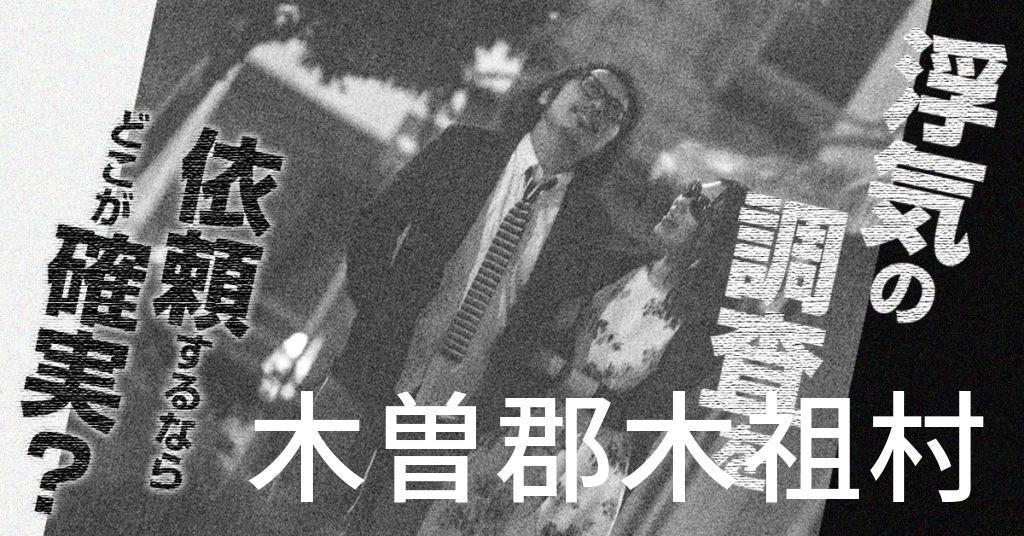 長野県木曽郡木祖村で浮気の調査を依頼するならどこが確実?費用がムダにならないおススメ興信所の選び方など