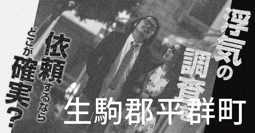 奈良県生駒郡平群町で浮気の調査を依頼するならどこが確実?費用がムダにならないおススメ興信所の選び方など
