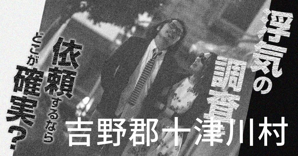 奈良県吉野郡十津川村で浮気の調査を依頼するならどこが確実?費用がムダにならないおススメ興信所の選び方など