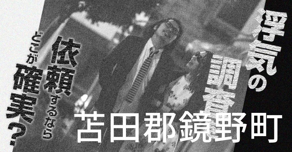 岡山県苫田郡鏡野町で浮気の調査を依頼するならどこが確実?費用がムダにならないおススメ興信所の選び方など