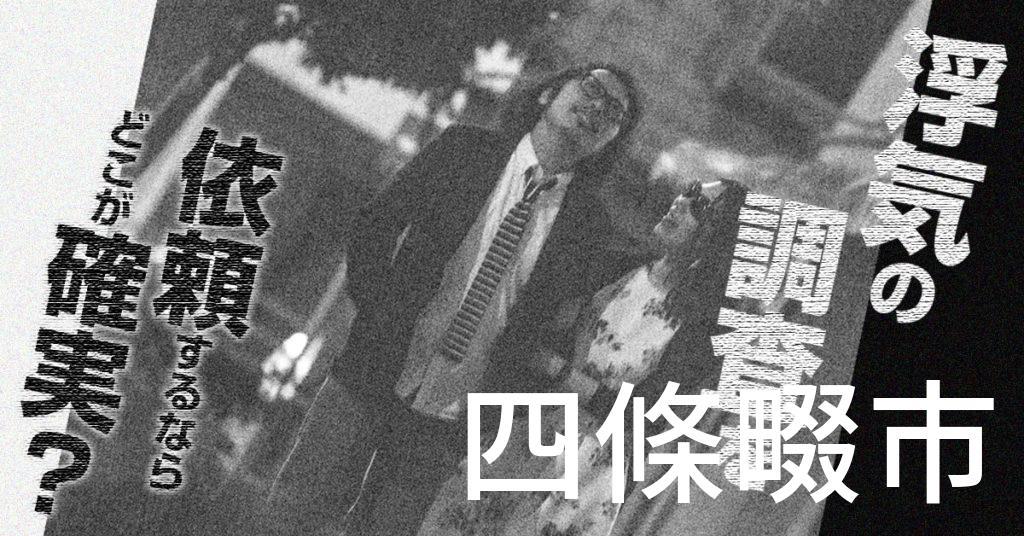 大阪府四條畷市で浮気の調査を依頼するならどこが確実?費用がムダにならないおススメ興信所の選び方など