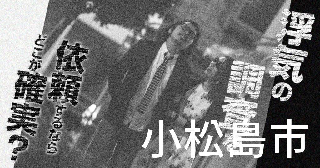徳島県小松島市で浮気の調査を依頼するならどこが確実?費用がムダにならないおススメ興信所の選び方など