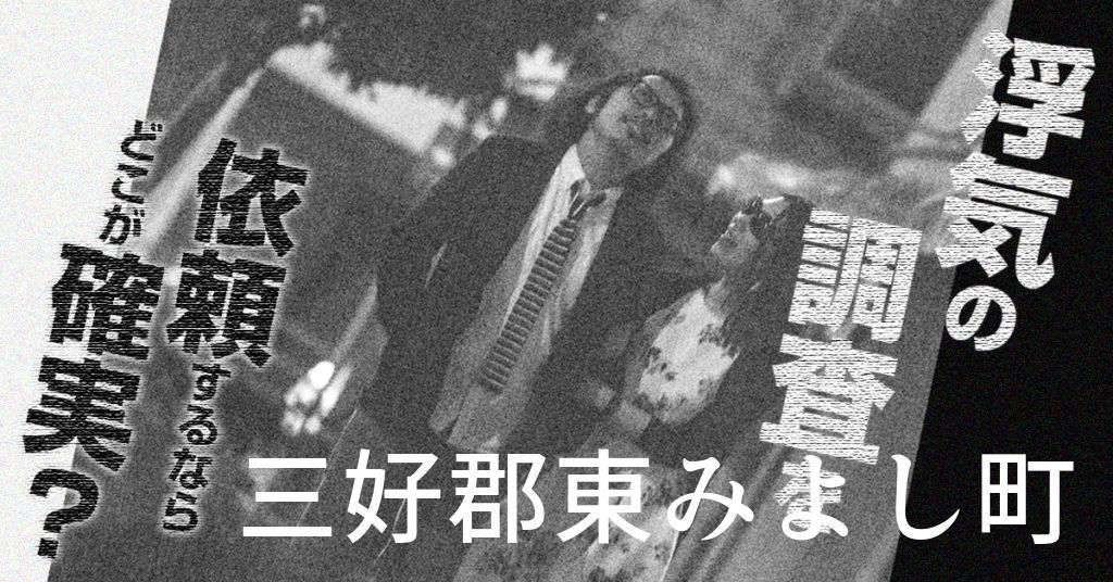 徳島県三好郡東みよし町で浮気の調査を依頼するならどこが確実?費用がムダにならないおススメ興信所の選び方など