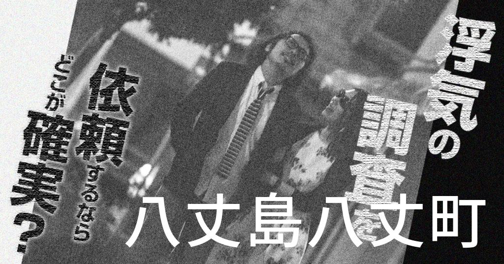 東京都八丈島八丈町で浮気の調査を依頼するならどこが確実?費用がムダにならないおススメ興信所の選び方など