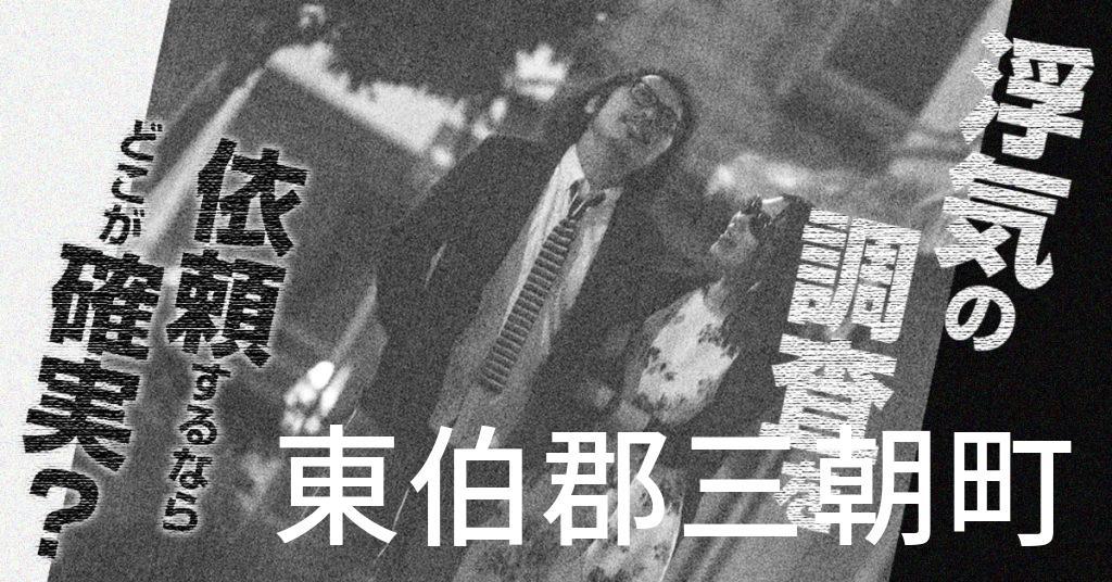 鳥取県東伯郡三朝町で浮気の調査を依頼するならどこが確実?費用がムダにならないおススメ興信所の選び方など